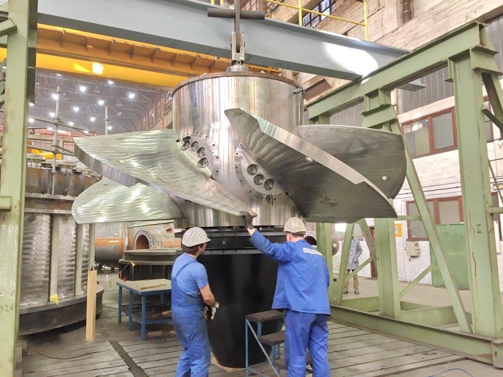 Khodaafarin hydro power plant