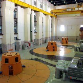 Karkheh hydro power plant