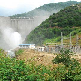 Shahid Rajaee hydro power plant
