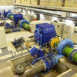 Azad hydro power plant