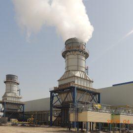 Al-Sadder gas turbine power plant