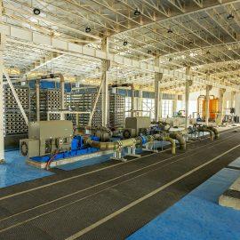 Bandar Abbas sea water reverse osmosis desalination plant