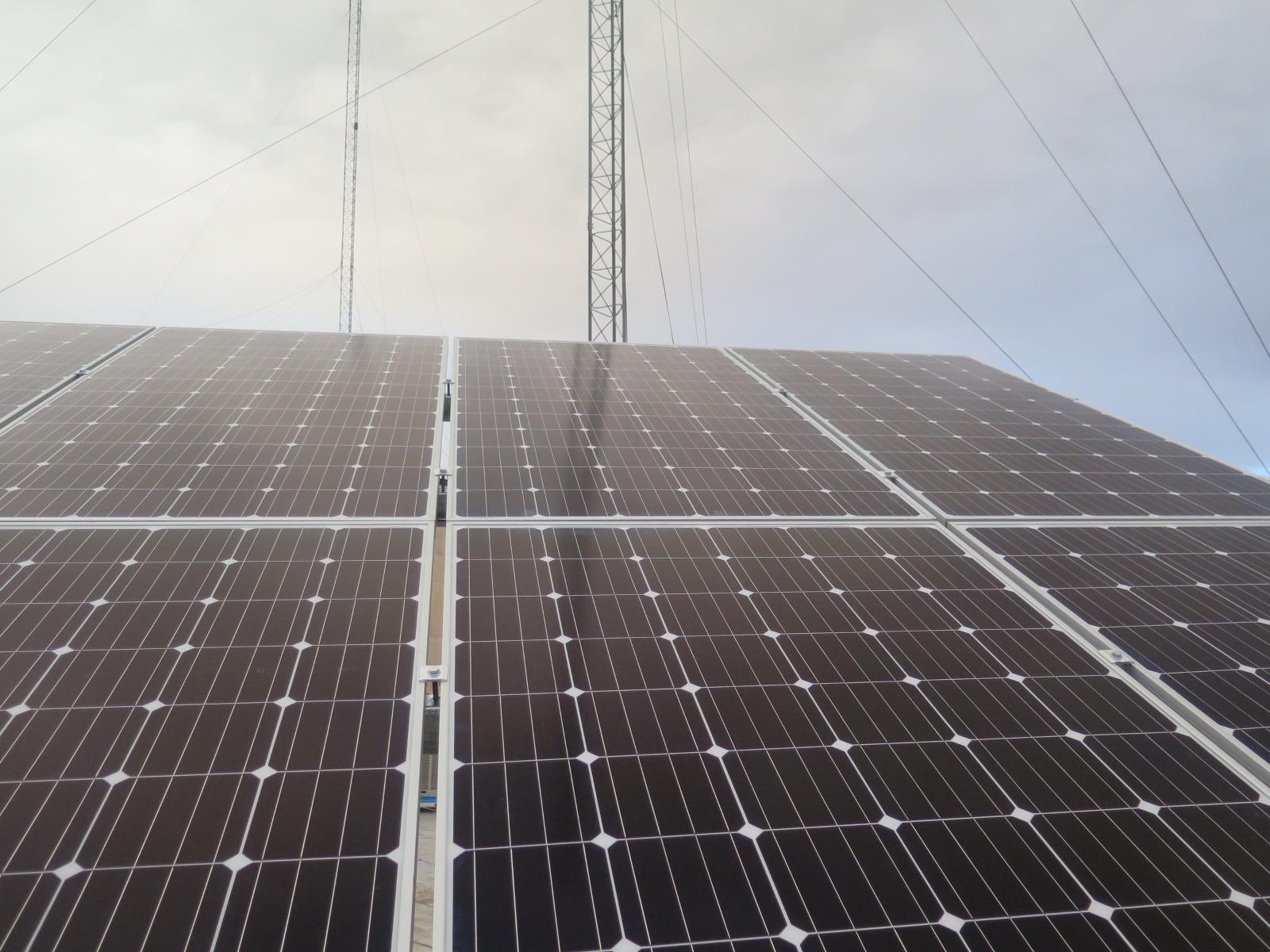 Solar power plants of Hamedan Province Gas Co.
