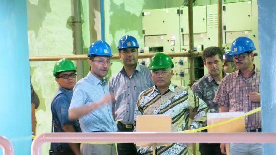 بازدید سفیر اندونزی از سد و نیروگاه تلمبه ذخیرهای سیاه بیشه