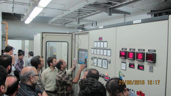 بازسازی ژنراتور واحد 7 نیروگاه توسعه مسجد سلیمان