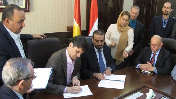قرارداد ساخت سد و نیروگاه آبی درالوک 2 در اقلیم کردستان عراق امضا شد
