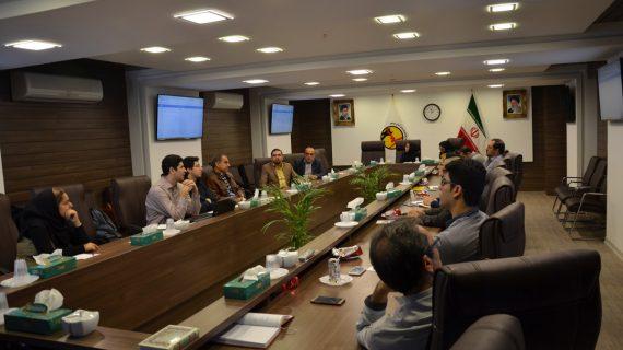 آموزش نرمافزار فهام تولیدی شرکت فراب در شرکت توزیع نیروی برق استان بوشهر