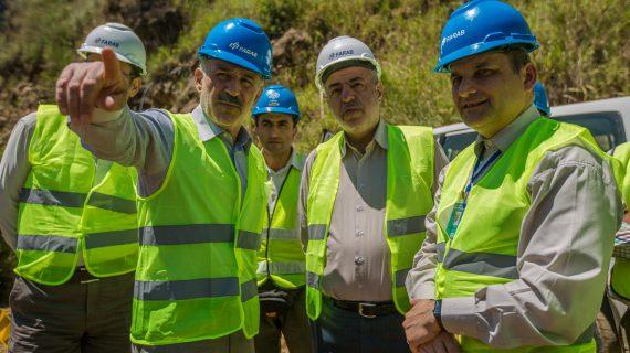 وزیر نیرو: پشتیبانی وزارت نیرو از پروژه اومااویا ادامه خواهد داشت