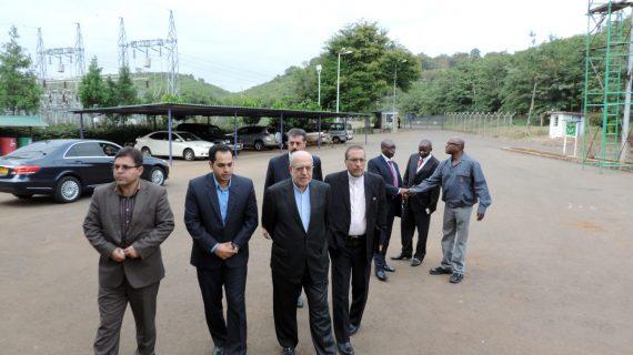 بازدید وزیر صنعت، معدن و تجارت از نیروگاه آبی تانا در کنیا