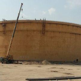 بازسازی مخزن ذخیره نفت خام بصره