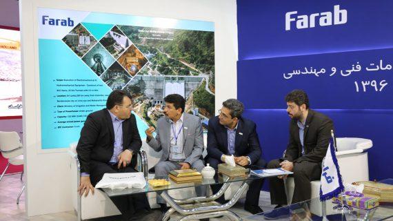 نمایش توانمندیهای گروه فراب در چهاردهمین نمایشگاه بینالمللی صنعت آب و تاسیسات و فاضلاب ایران