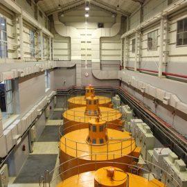 نوسازی نیروگاه آبی تانا