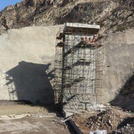 دریچه تونل انحراف و پوشش فلزی مجرای آب شرب سد هراز