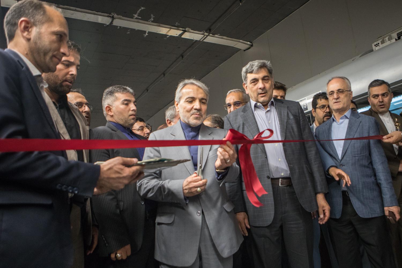 افتتاح بخش شرقی و دو ایستگاه از خط ۷ مترو تهران با حضور معاون رئیسجمهور