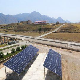 نیروگاه خورشیدی دانشکده نفت و گاز گچساران
