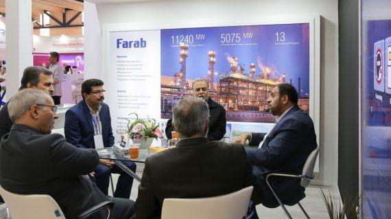 نمایش توانمندیهای گروه فراب در نوزدهمین نمایشگاه بینالمللی صنعت برق ایران