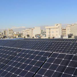 پروژه نیروگاه خورشیدی شهرداری منطقه 12 تهران