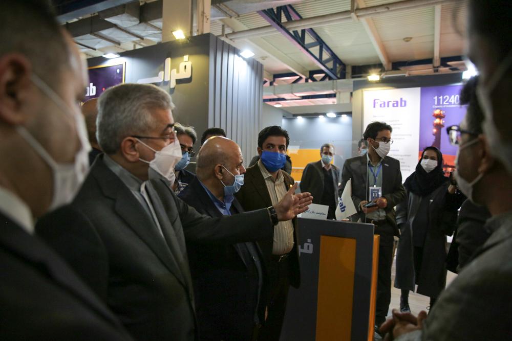 حضور گروه فراب در نمایشگاه بینالمللی صنعت برق و آب ایران