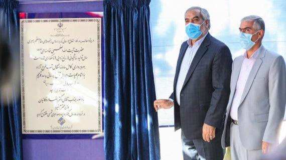 افتتاح تونل انتقال آب سد آزاد به طول 11 کیلومتر در استان کردستان
